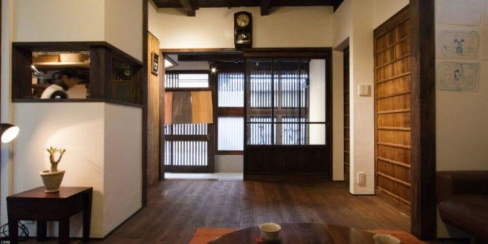 京都市上京区にある町家のリノベーション